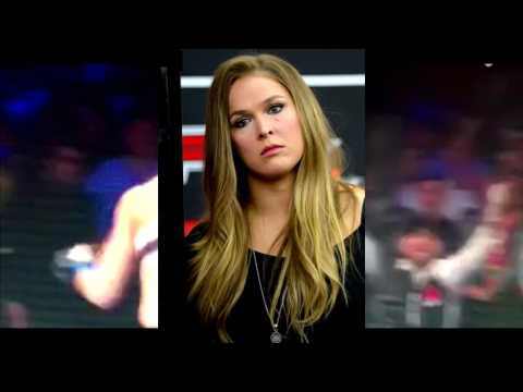 RONDA ROUSEY KO'D BY HOLLY HOLM