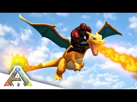 FLYING CHARIZARD! - ARK SURVIVAL EVOLVED POKEMON MOD #9