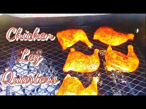 How to smoke the best bbq leg quarters