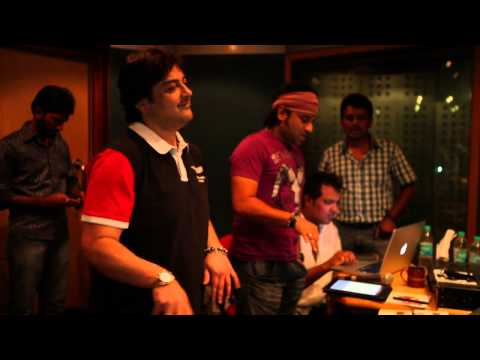 Julayi - O Madhu Song Making By Adnan Sami [HD]