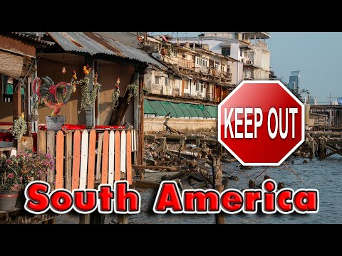 Top 10 Worst Places for Americans in South America