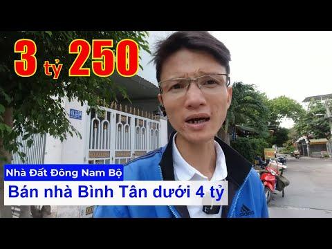 Chính chủ Bán nhà quận Bình Tân dưới 4 tỷ, hẻm 413 Lê Văn Quới, Bình Trị Đông A. Hẻm 4,5m thông hẻm 276 Mã Lò