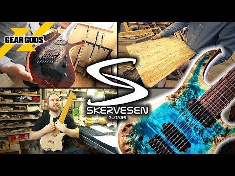 SKERVESEN GUITARS Factory Tour 2019! | GEAR GODS