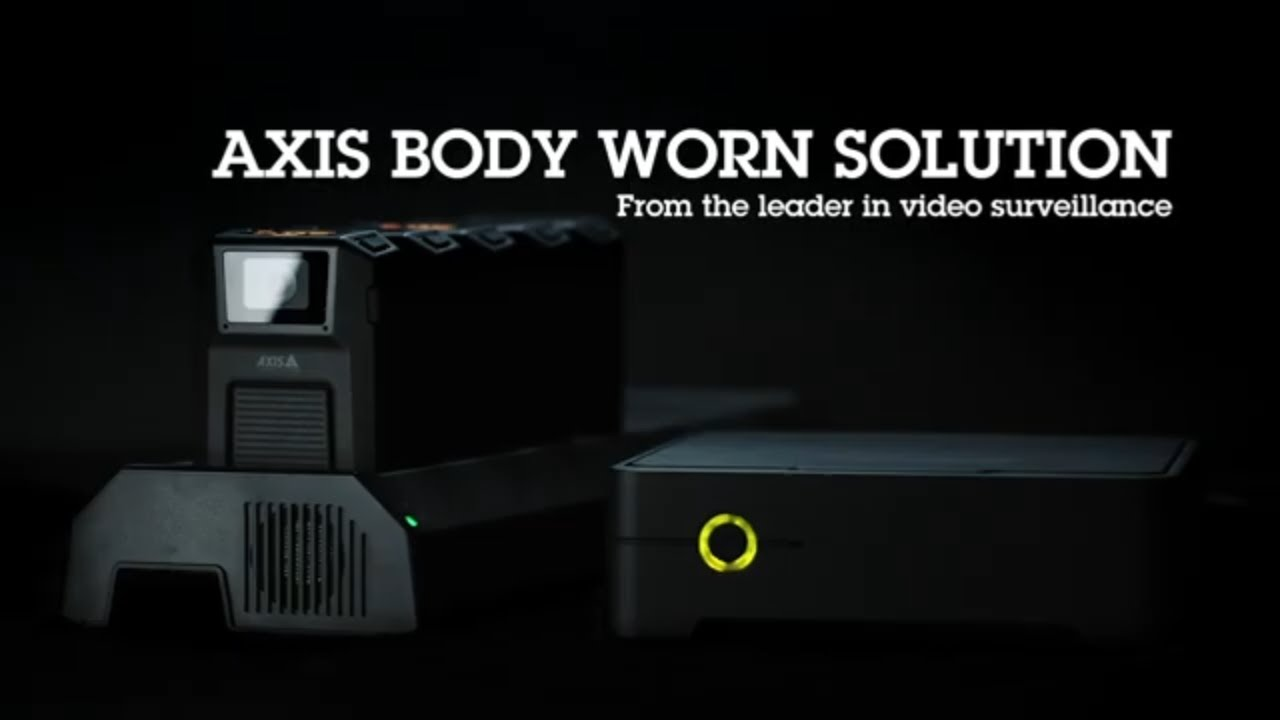 Through the lens - AXIS W100 Body worn camera