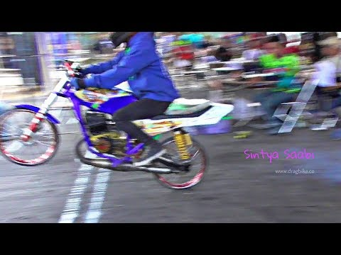 Kelasnya Para Raja Jalanan Jambret RX KING 135cc Drag Bike Indonesia