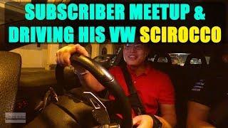 Driving A Subscriber's Volkswagen Scirocco 2.0 TSI | Ipoh Visit