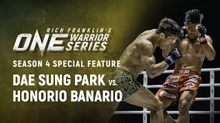 Rich Franklin's ONE Warrior Series   Dae Sung Park Makes A Statement