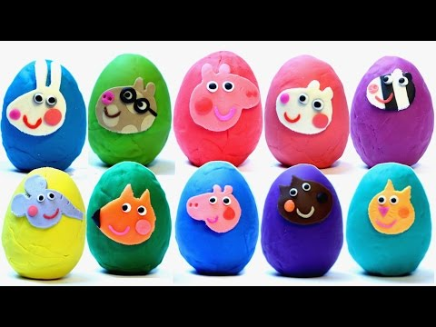 Thumbnail: PEPPA PIG Surprise Eggs Play Doh My Little Pony Littlest Pet Shop lps mlp