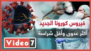 فيروس كورونا الجديد.. أكثر عدوى وأقل شراسة.. فيديو - اليوم السابع