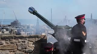 41 Gun Salute   HRH The Prince Philip, Duke of Edinburgh   British Army