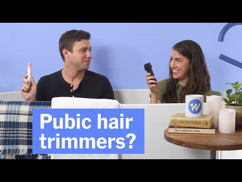 Testing Pubic Hair Trimmers Is Easier Than Talking About Them
