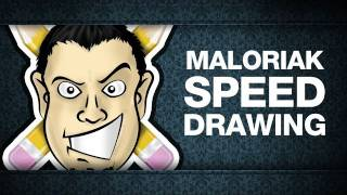 Maloriak Speed Drawing (by Cynical Brit graphic designer)
