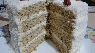 """Рецепт торта """"Рафаэлло"""" Нереально вкусный кокосовы торт! Raffaello Coconut Cake"""