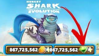 Hungry Shark Evolution V.6.7.0 MOD/HACK DINHEIRO INFINITO