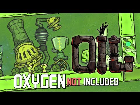 Oxygen Not Included OIL UPGRADE Ep 2: SO HAPPY, HEALTHY & GERM FREE!!! ONI