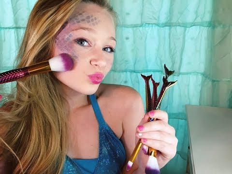 Magical Mermaid Makeup Brush Review With Princess Ella