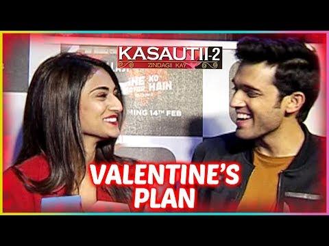 Parth Samthaan & Erica Fernandes REVEAL Their Valentines Plan | Kasautii Zindagii Kay 2