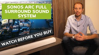Sonos Arc Surround Sound System In Depth: Watch Before You Buy