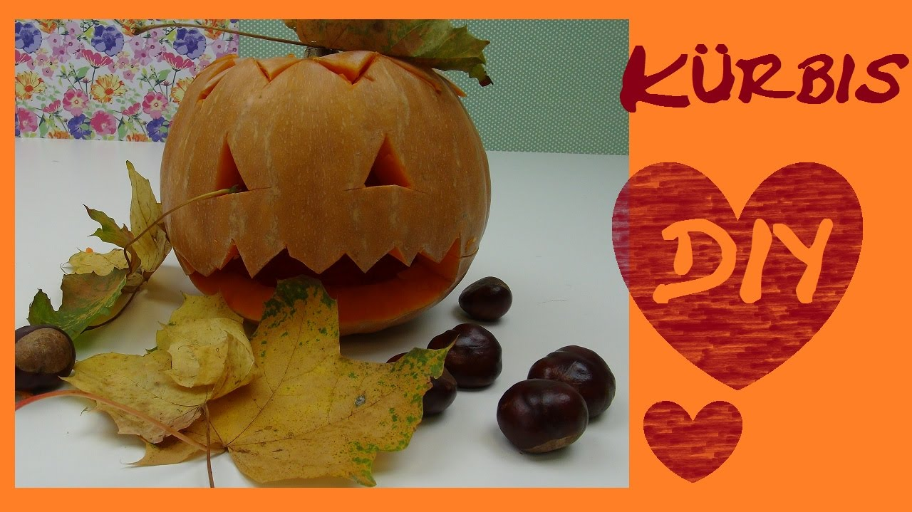 diy halloween k rbis schnitzen anleitung gesicht deko how to make halloween pumpkins scare