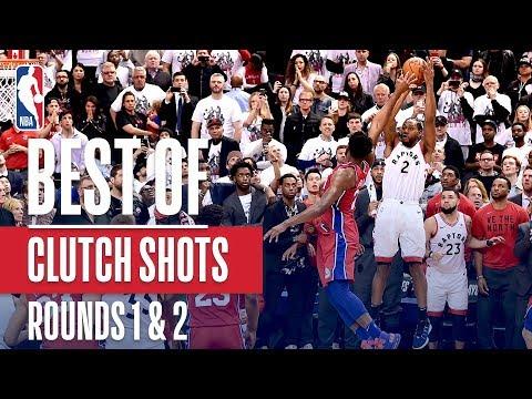 Best Clutch Buckets From Rounds 1 & 2 | 2019 NBA Playoffs