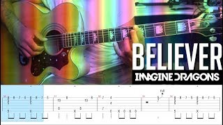 Tutorial - BELIEVER - Imagine Dragons no Violão Fingerstyle