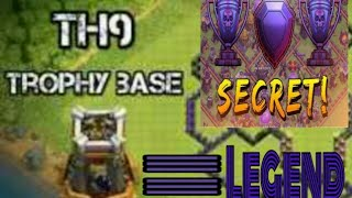 Th 9 Insane and Best troll base map 2019