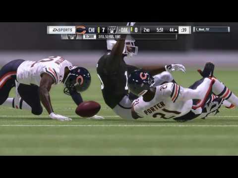 Chicago Bears VS Oakland Raiders