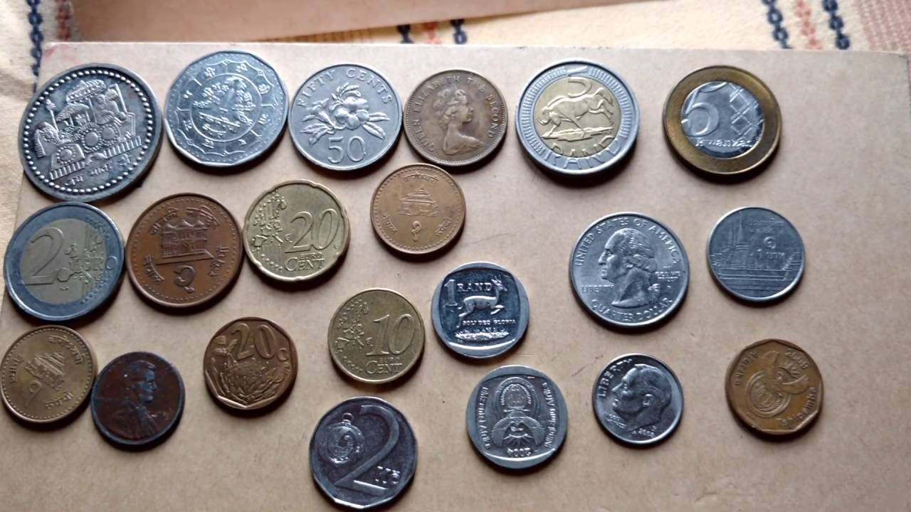 Rare And Old Foreign Coins In Diffe Country Makes Money