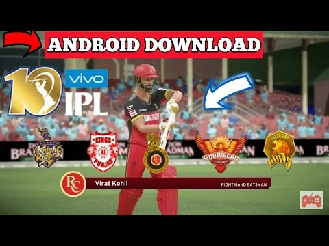 How To Download IPL Cricket Game In Your Android Device (with Gameplay)