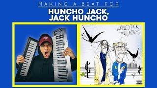 2018! Making a beat for Travis Scott & Quavo's - Huncho Jack, Jack Huncho