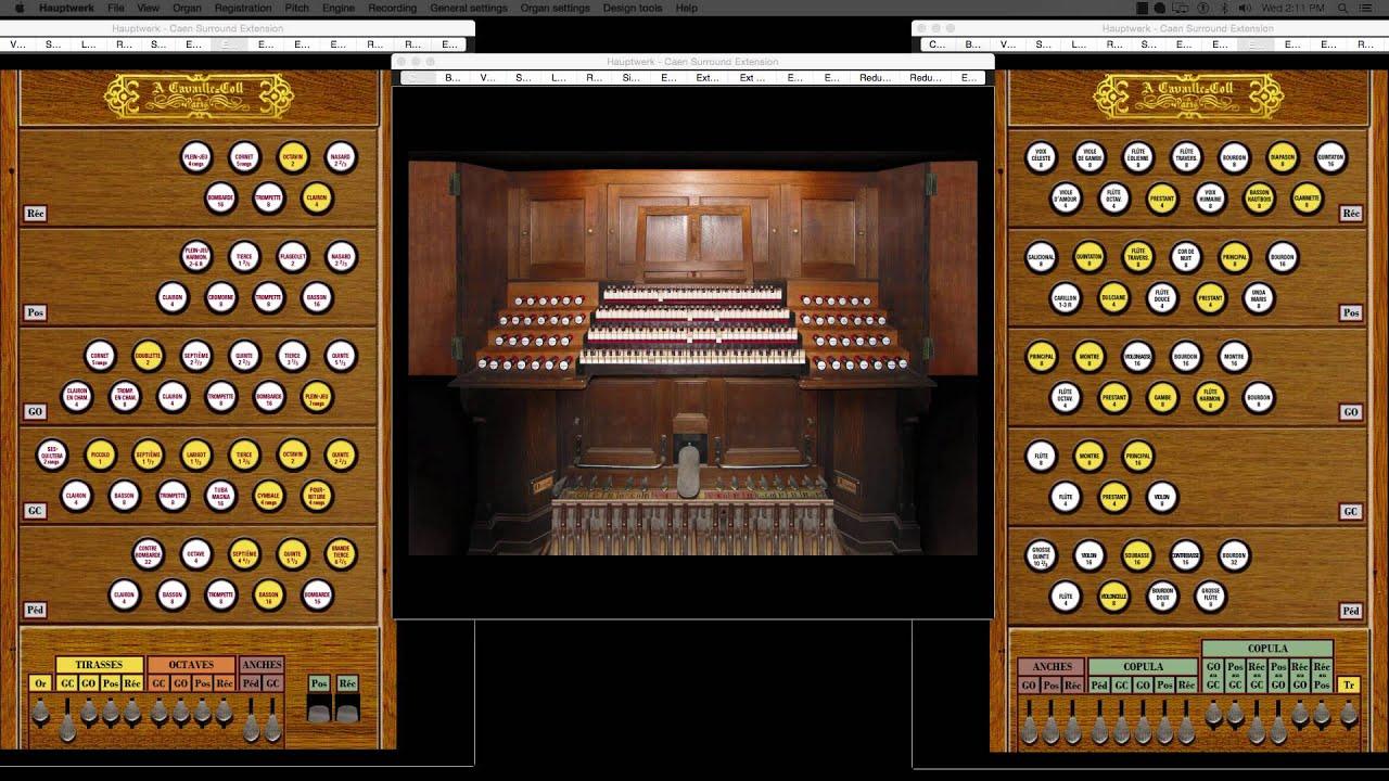 JS Bach - Organ Concerto #1- part 2 (presto)
