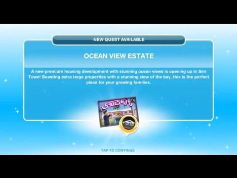 [The Sims Freeplay] - Ocean View Estate Görevi