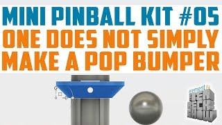 Mini Pinball 05: Pop Bumpers, Targets, and More!