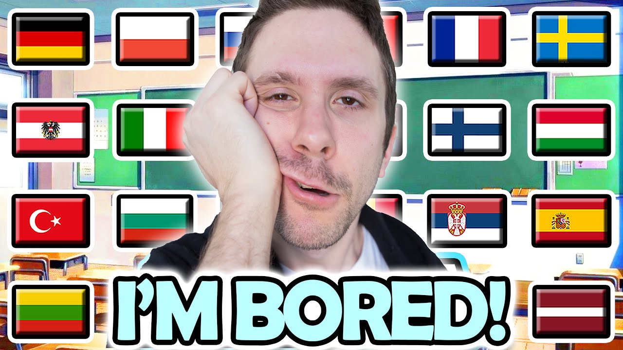 "How To Say ""I'M BORED!"" in 23 Different Languages"