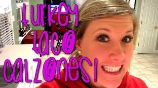 Turkey Taco Calzone Recipe - Cooking With Katiepie