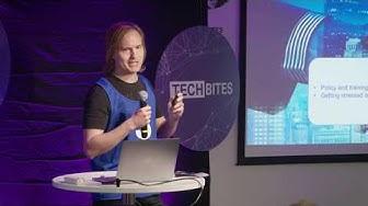TechBites pitch: Beaten by technostress - Henri Pirkkalainen, Tampere University