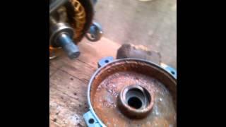 Ремонт водяного насоса для скважины