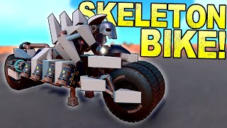 Skeletal Motorcycle Of Mayhem And Other Spooky Builds BEST CREATIONS Trailmakers Gameplay