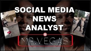 SOCIAL MEDIA NEWS ANALYST HEAD OF SECURITY MR. VEGAS | BUSINESS MAN VS SECURITY | ONLY1 EMPO