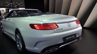 Mercedes S63 AMG Cabriolet – Dubai Motor Show 2015