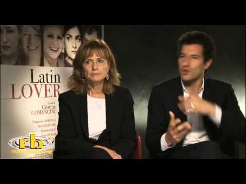 Cristina Comencini e Francesco Scianna, intervista per Latin Lover, RB Casting