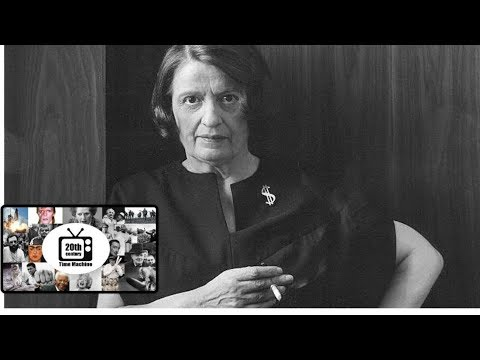 Ayn Rand's Last Public Lecture: The Sanction of the Victims