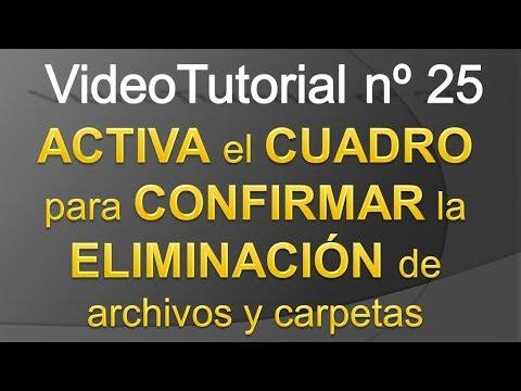 TPI - Videotutorial nº25 - Cómo MOSTRAR el CUADRO de dialogo para CONFIRMAR ELIMINACION