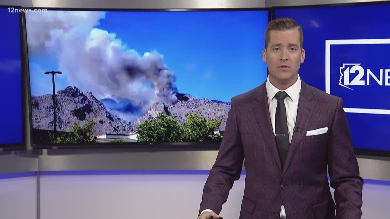 Bighorn fire near Tucson has burned over 6000 acres and is ...
