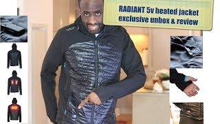 RADIANT VOLT 5v heated jacket- EXCLUSIVE UNBOXING!