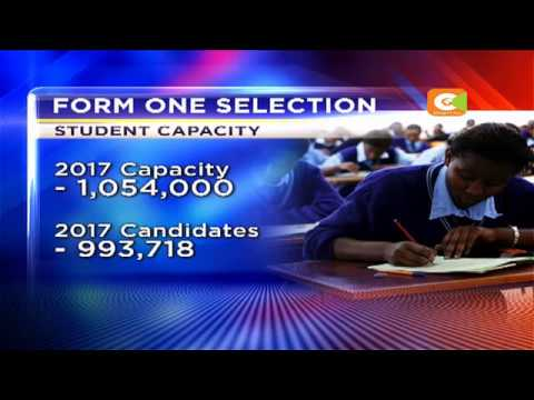 Gov't to release list of national school form one selections