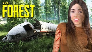 OUR PLANE CRASHED.. AGAIN!! (The Forest)
