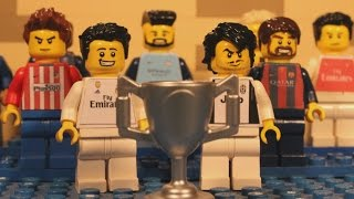 Champions League Final 2017 in LEGO (Juventus v Real Madrid) Preview Show