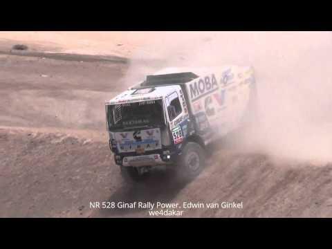 NR 528 DAKAR 2015 Ginaf Rally Power. Edwin van Ginkel
