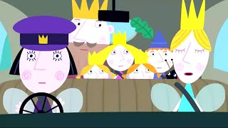 Ben and Holly's Little Kingdom | Driving Miss Holly | Kids Videos